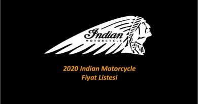 2020 Indian Motorcycle Fiyat Listesi